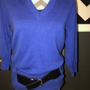 MICHAEL Michael Kors Sweaters - New-Michael Kors v-neck belted tunic sweater-Small